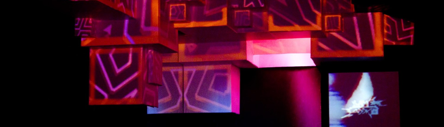 Artcraft Stage Design & mapping at Cave Electro 2014
